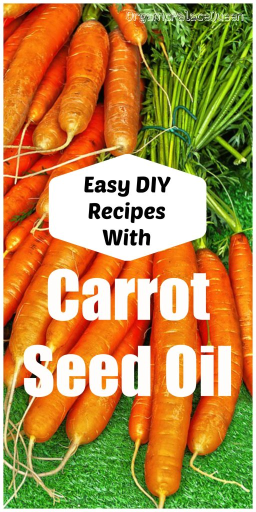 Carrot seed essential oil recipes