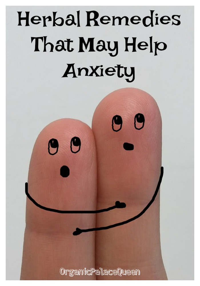 Herbs that are good for anxiety