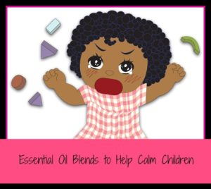 essential oils for calm children