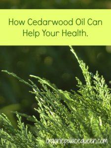 cedarwood oil for health
