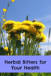 herbal bitters for health