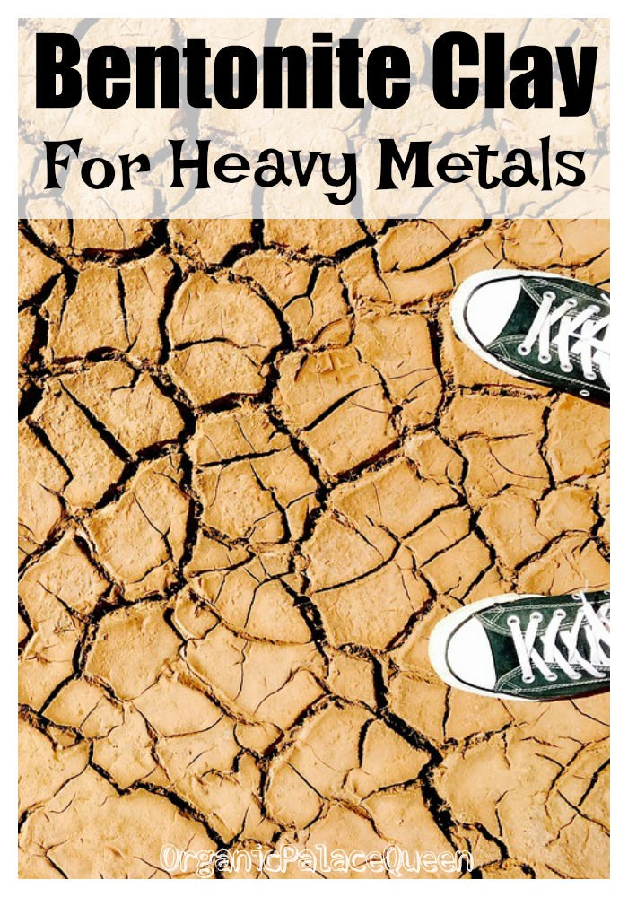 Bentonite clay for heavy metals