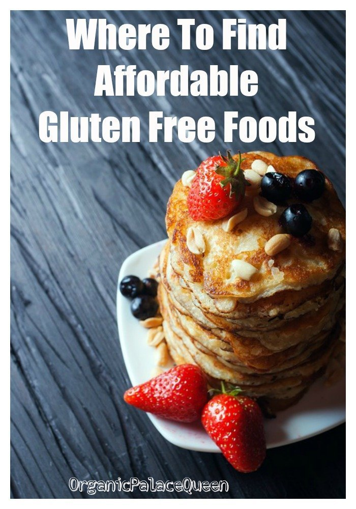 Where to find affordable gluten free foods