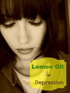lemon oil for depression