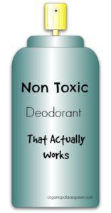 non toxic underarm deodorant