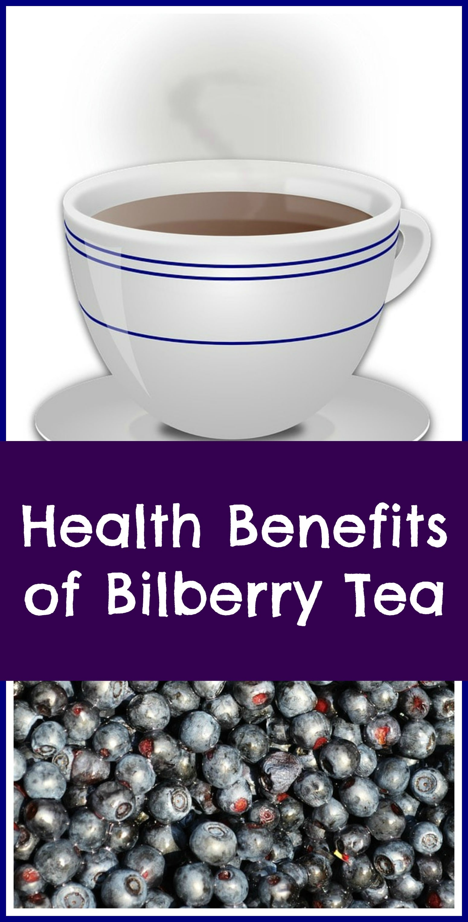 Bilberry tea
