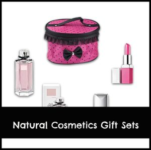 natural cosmetics gift set