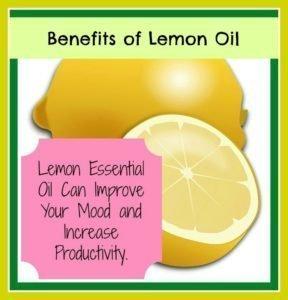 Aura Cacia lemon oil