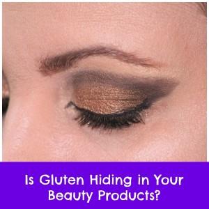 list gluten free makeup brands