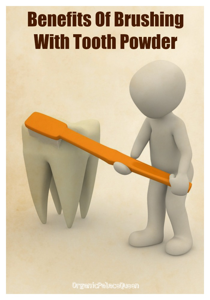Benefits of using tooth powder