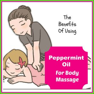 peppermint oil for massage