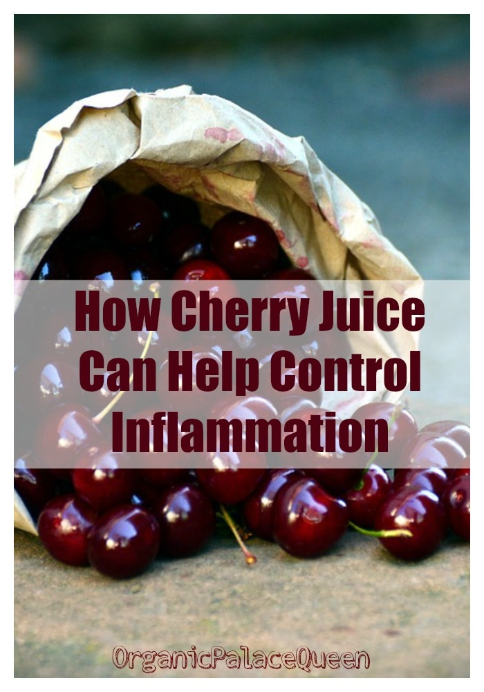 Does cherry juice help inflammation