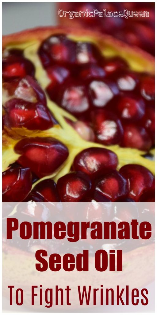 Pomegranate oil for your face