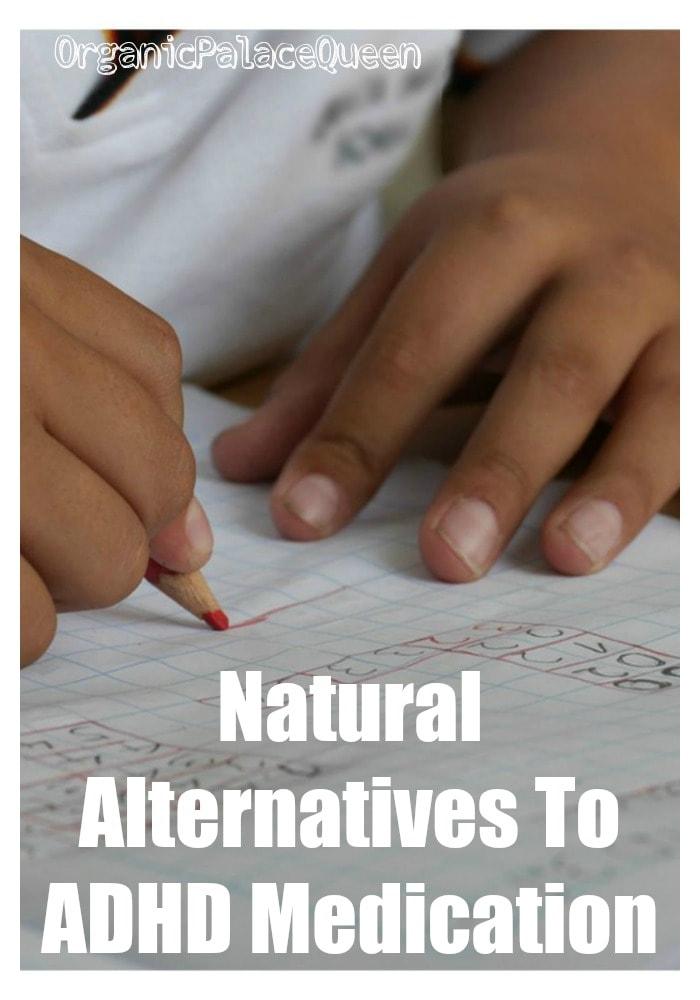 Natural alternatives to ADHD medications