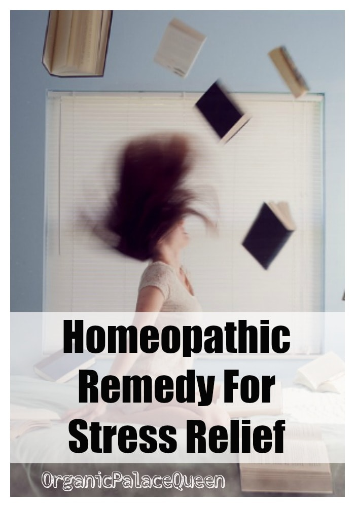 Homeopathic medicine for stress relief