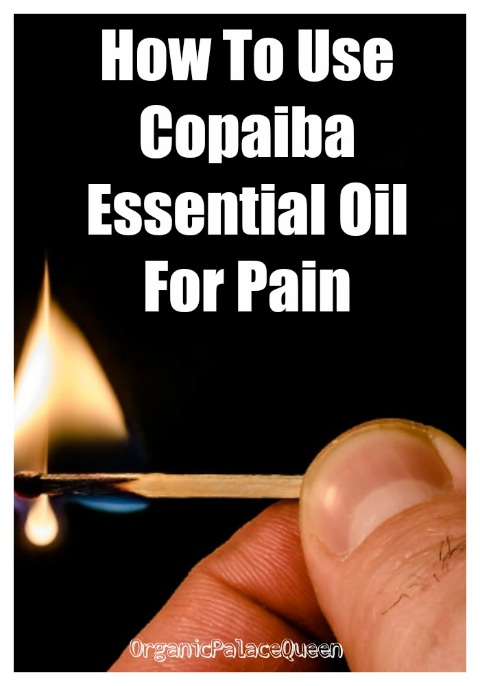 How to use copaiba oil for pain