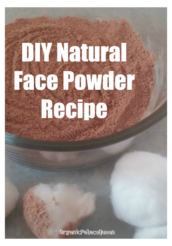 Homemade face powder recipe