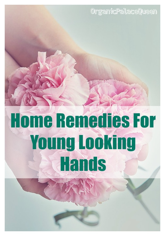 how to keep hands looking young