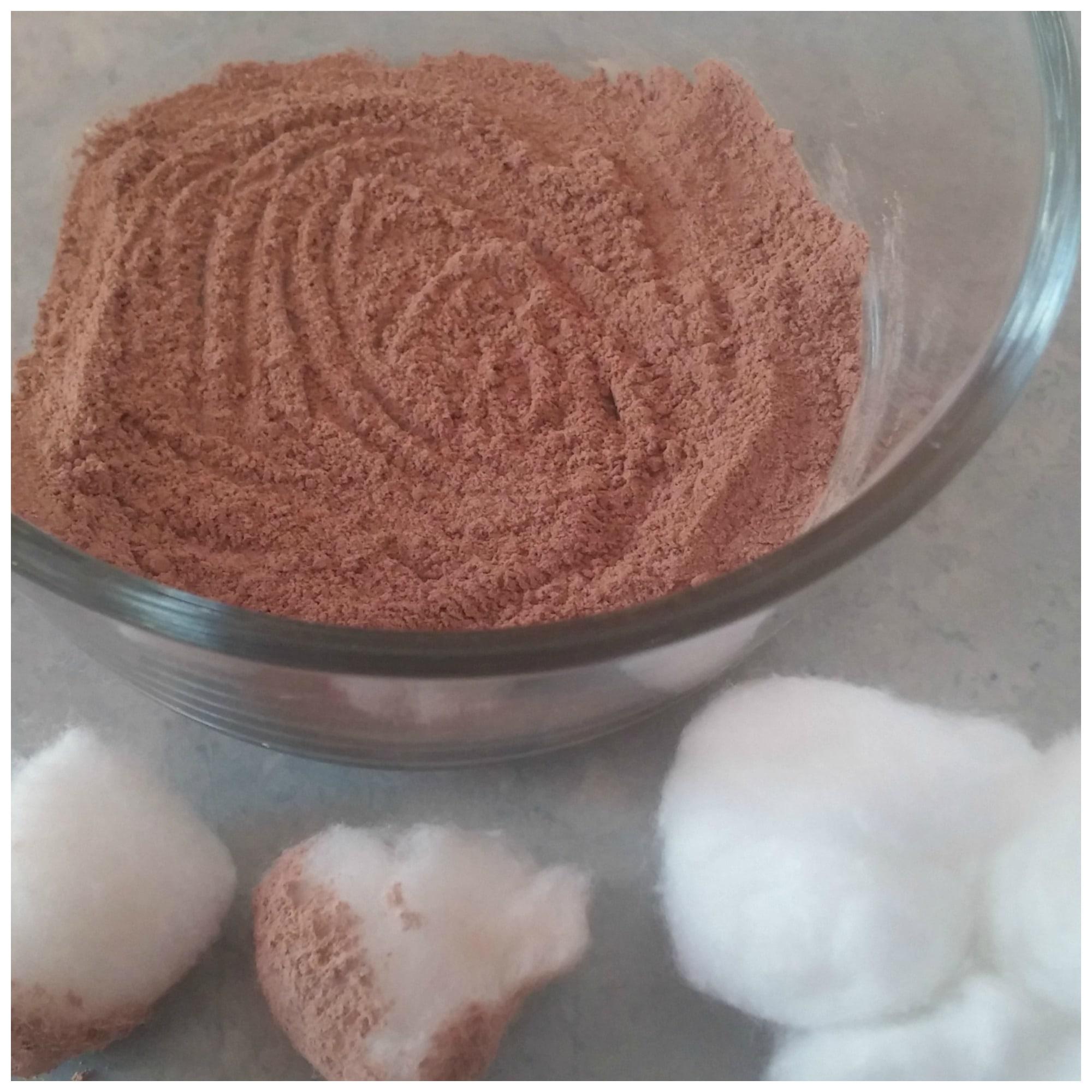 how to make natural face powder at home