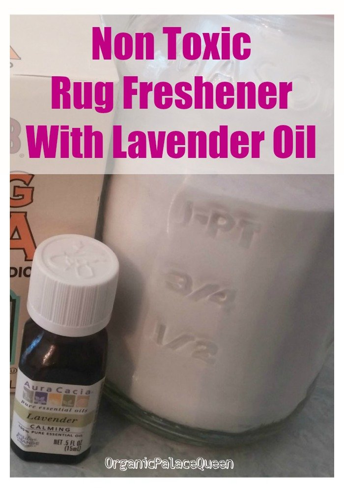 lavender essential oil carpet deodorizer recipe