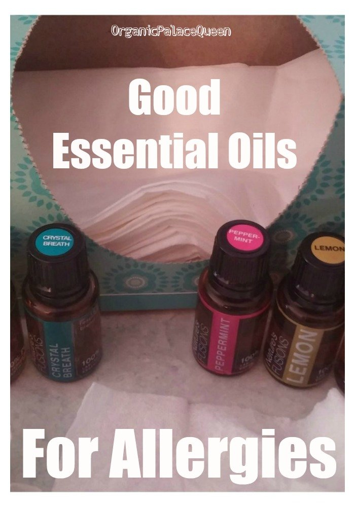 Good essential oils for allergies
