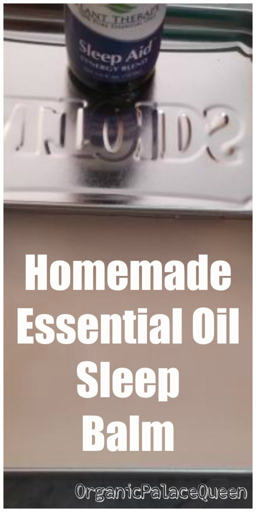homemade essential oil sleep balm