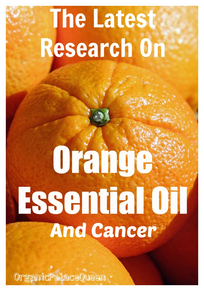 Is orange essential oil good for cancer