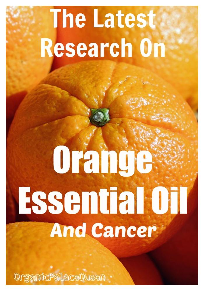 Is orange essential oil good for cancer
