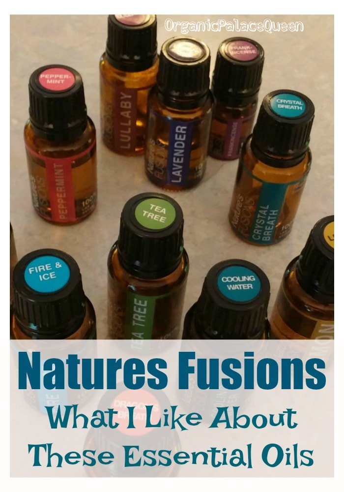 Natures Fusions essential oils review