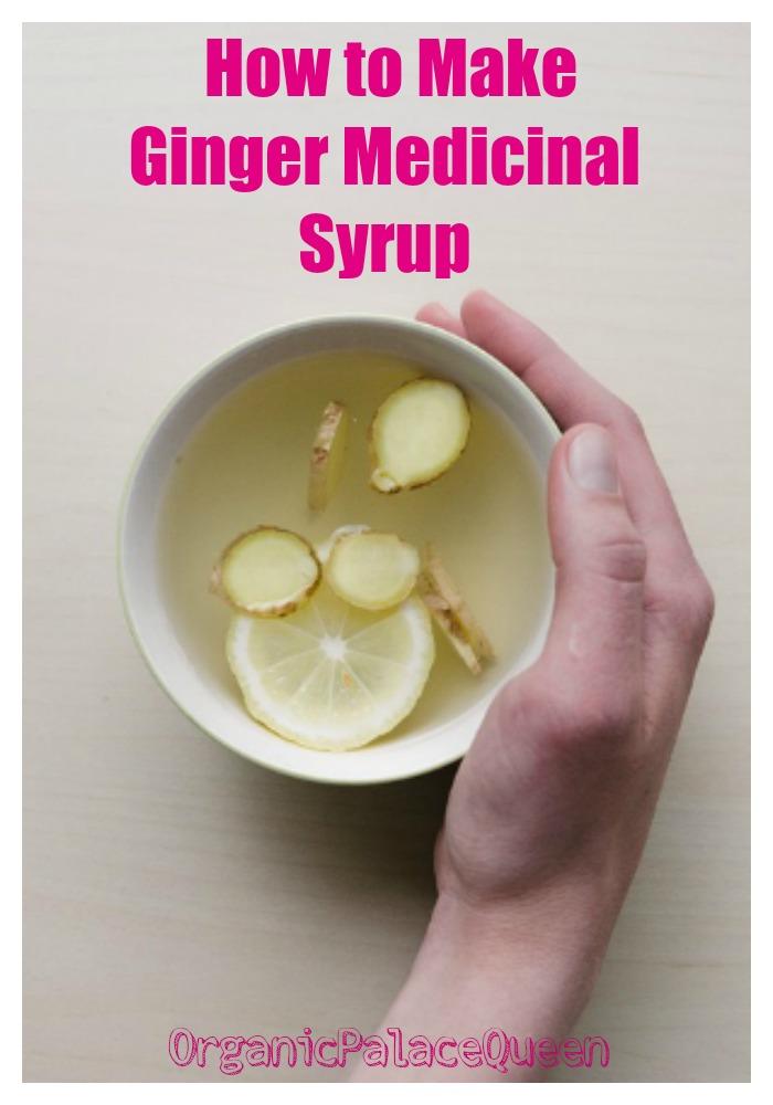 Ginger medicinal syrup recipe