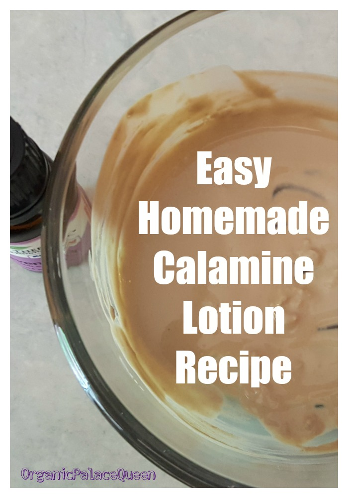 How to make calamine lotion at home
