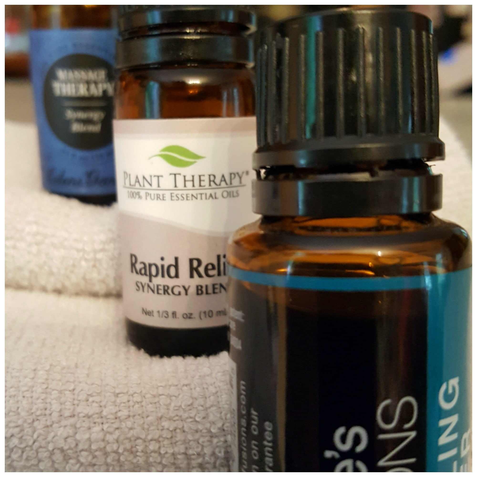 Essential oil blends for chronic pain