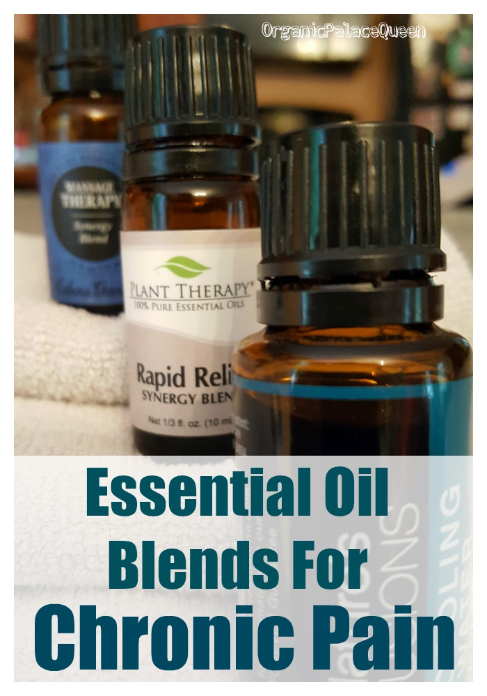 Essential oil blends that help with pain