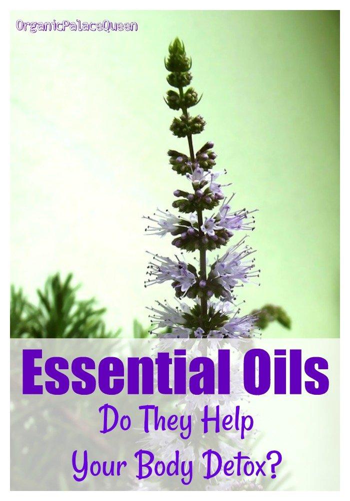 Essential oils to detoxify the body