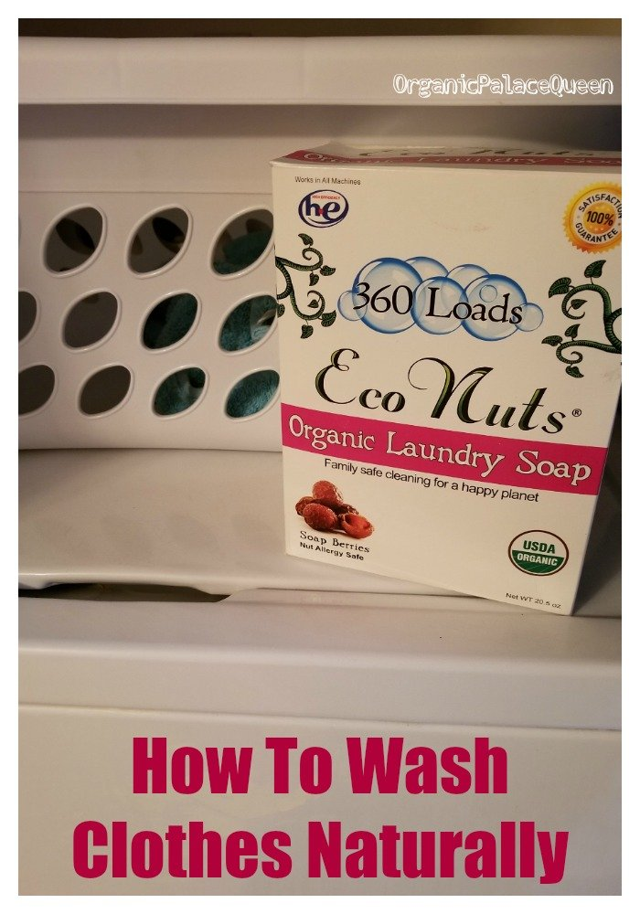 How to wash clothes naturally