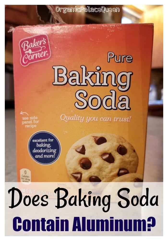 Should you buy aluminum free baking soda