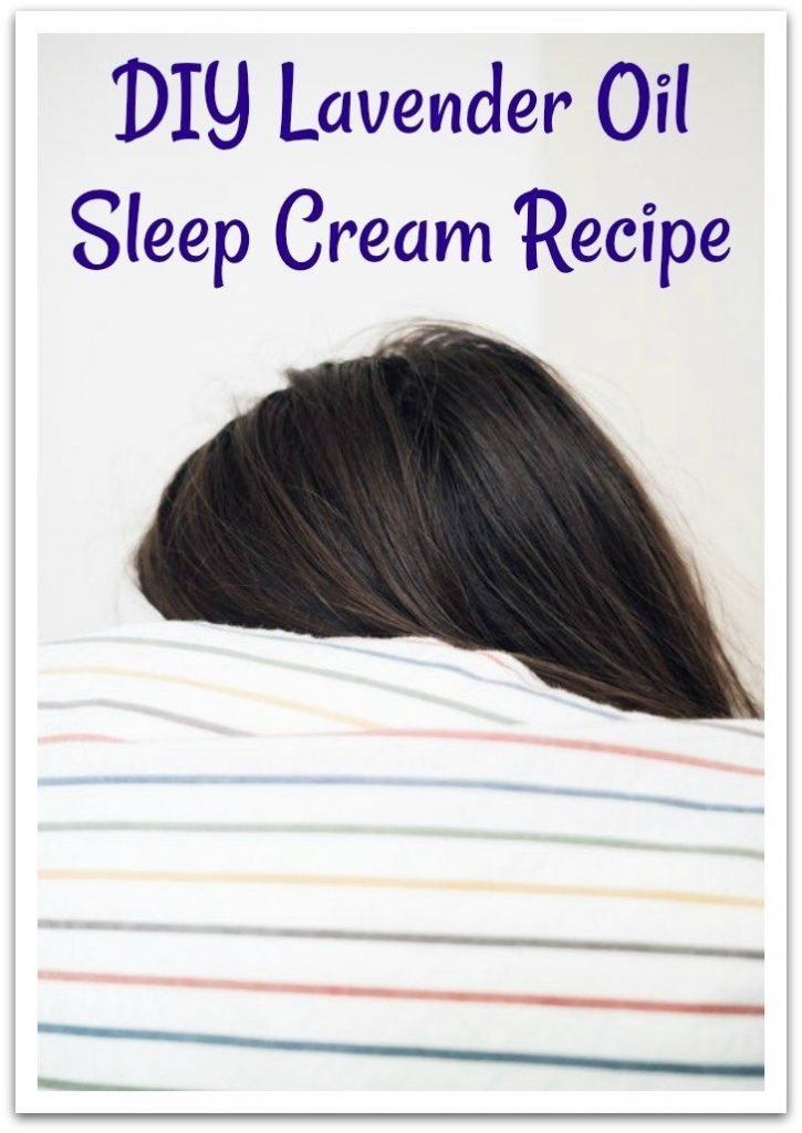 lavender sleep cream recipe