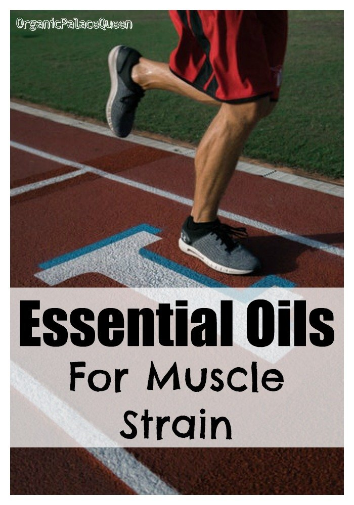 Essential oils for muscle strain