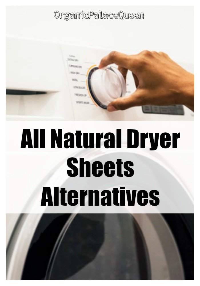 Safe natural dryer sheets alternatives