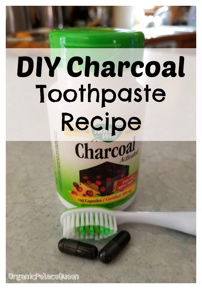 Activated charcoal for your teeth