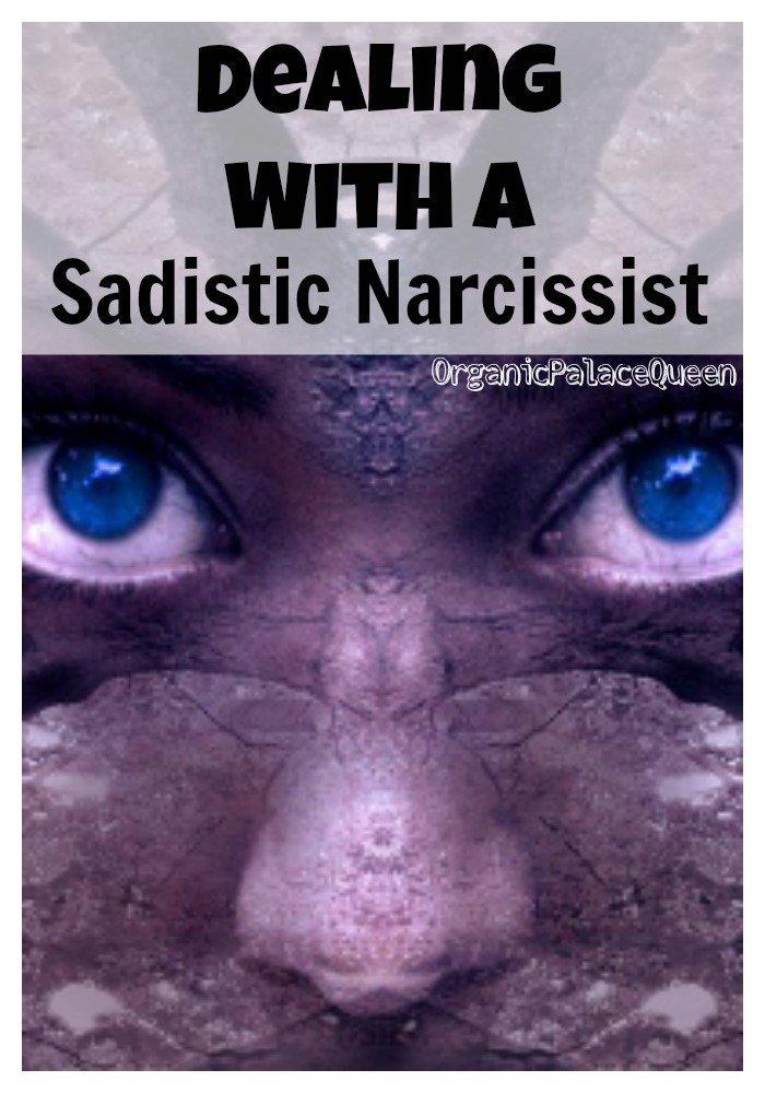 What is a sadistic narcissist
