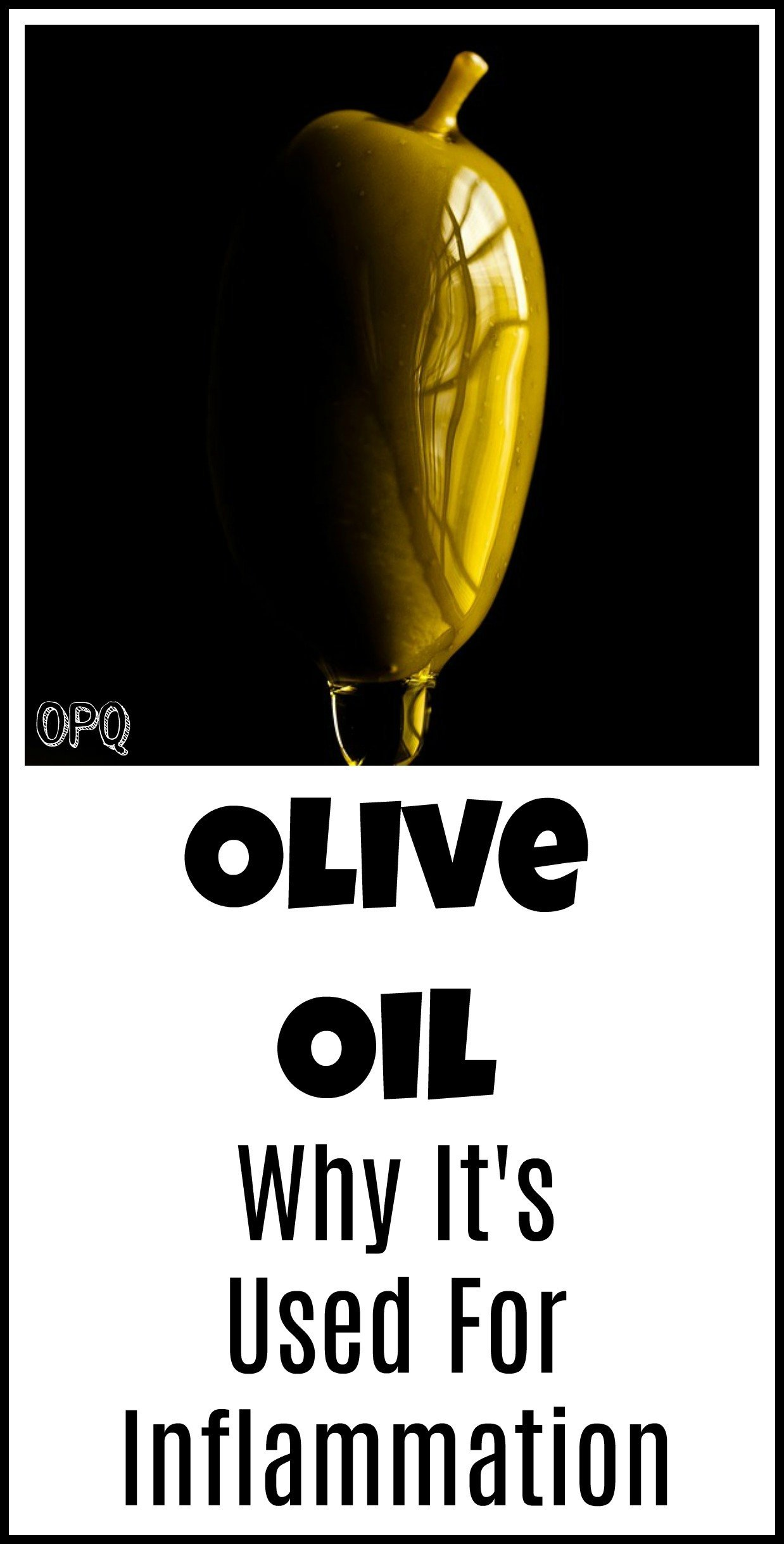 Can olive oil help fight inflammation