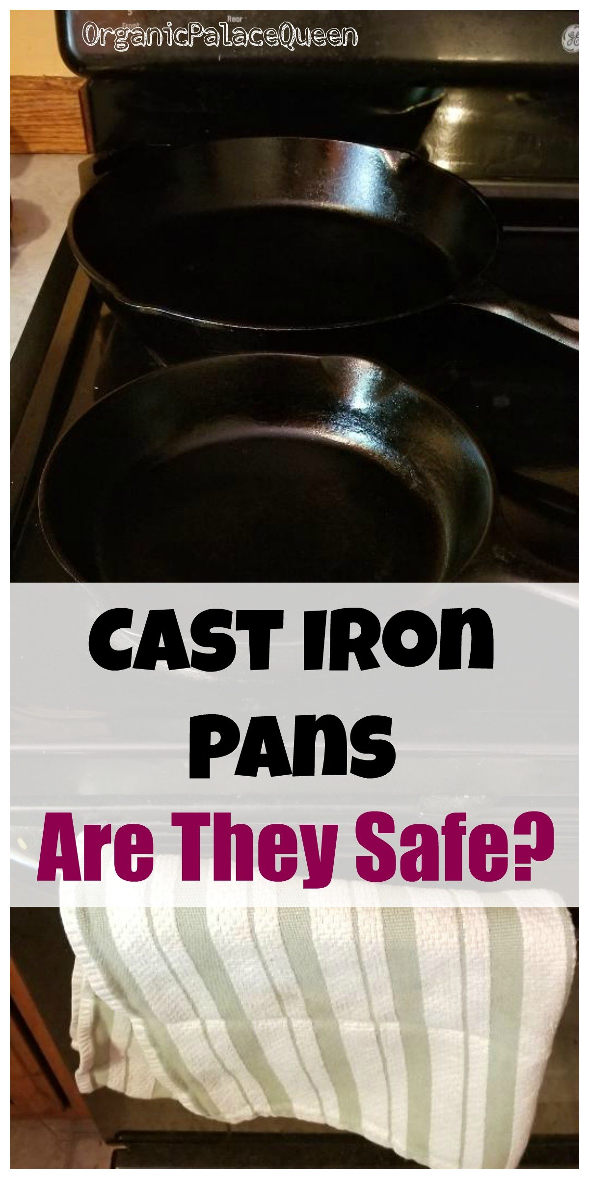 Are cast iron pans bad for you