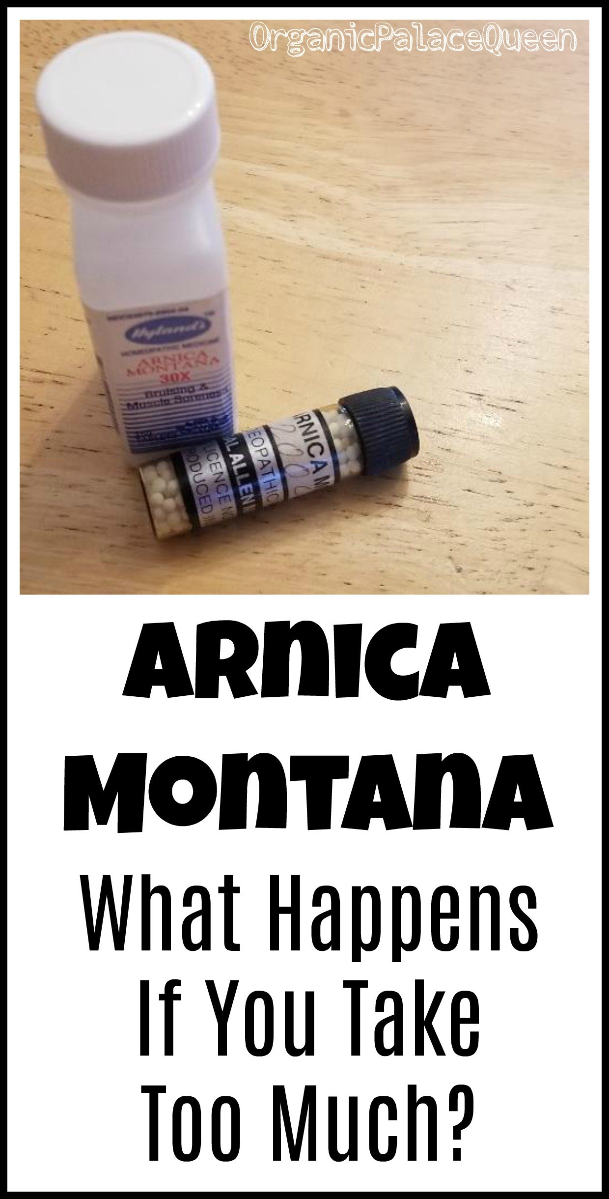 Can you take too much arnica