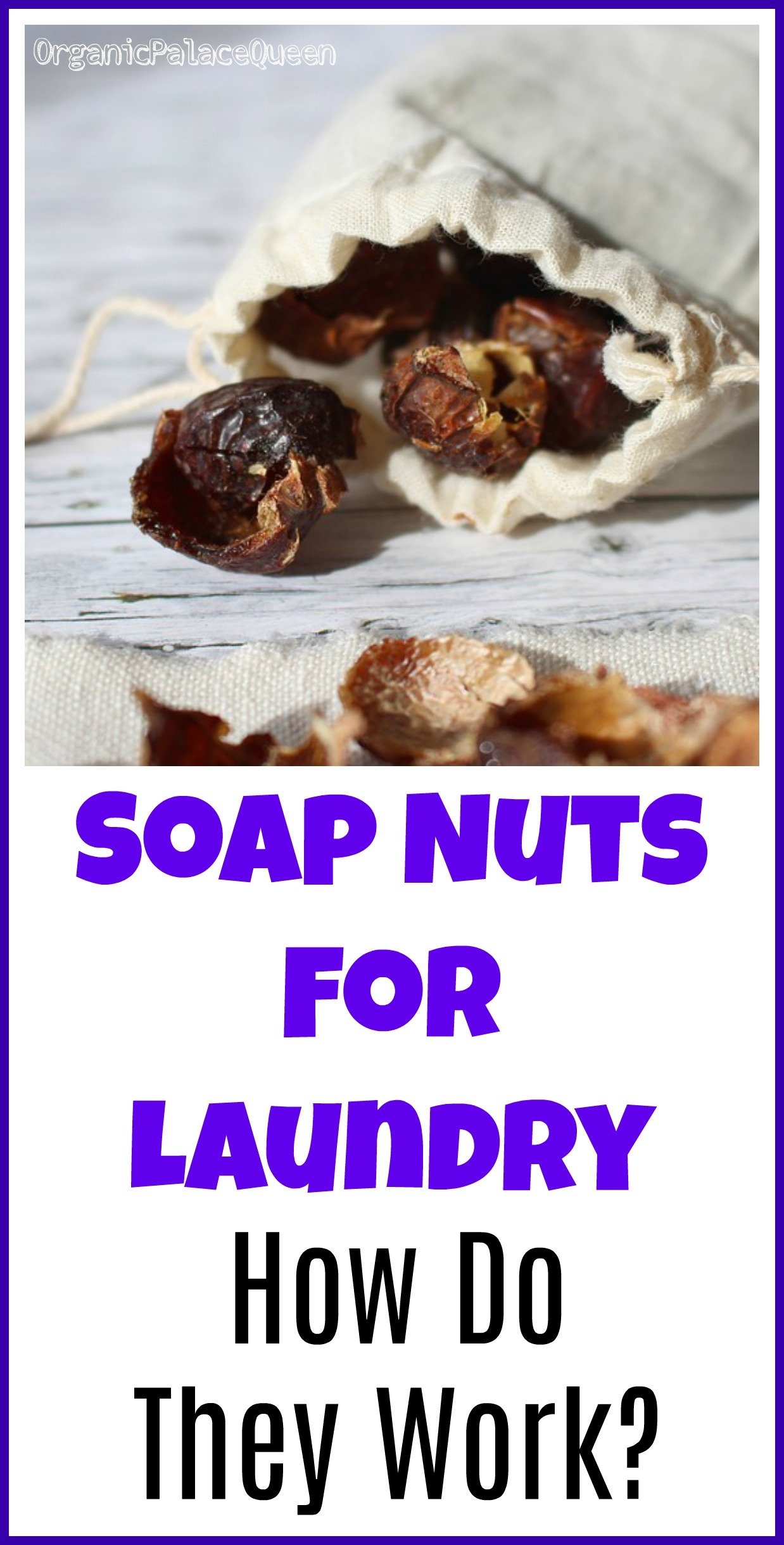 How do soap nuts clean