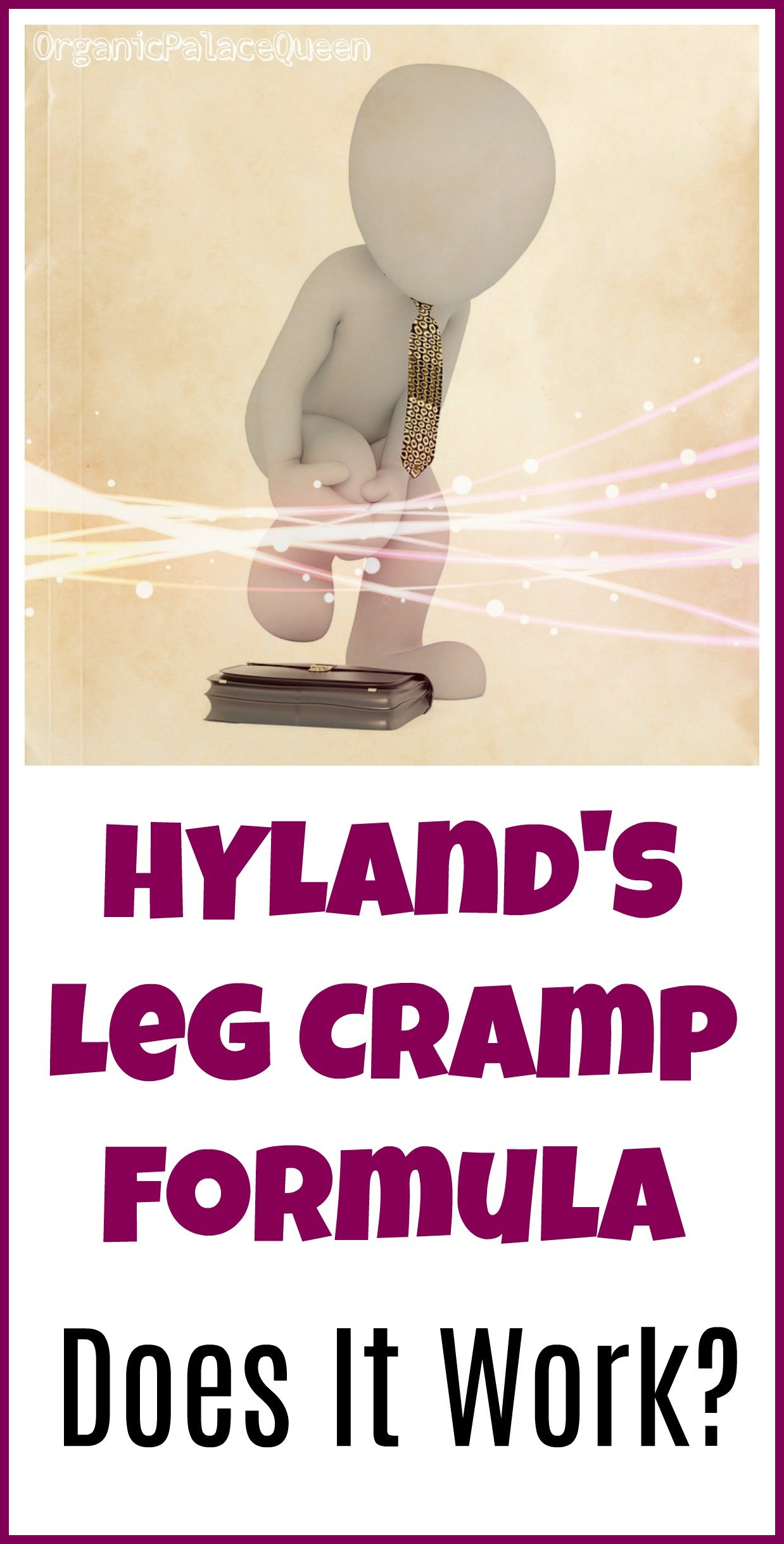 Does Hyland's leg cramp formula work