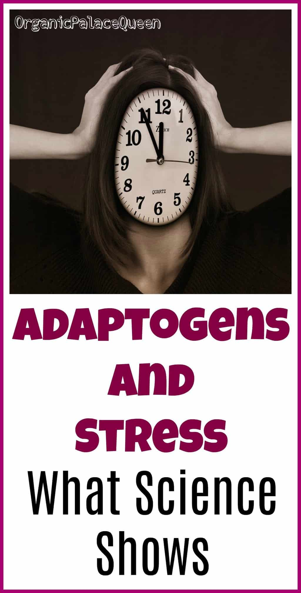 Can adaptogens take the edge off